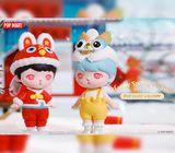 Bunny Happy Spring Festival Blind Box Series by POP MART  + 1 Kawaii Sticker