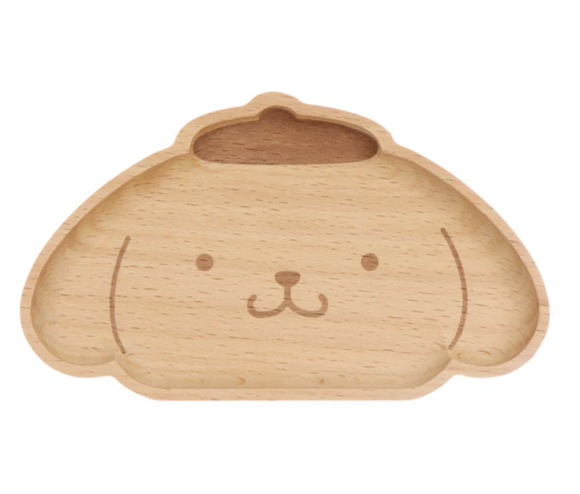 Cinnamorroll Face Die-Cut Wooden Tray by Sanrio