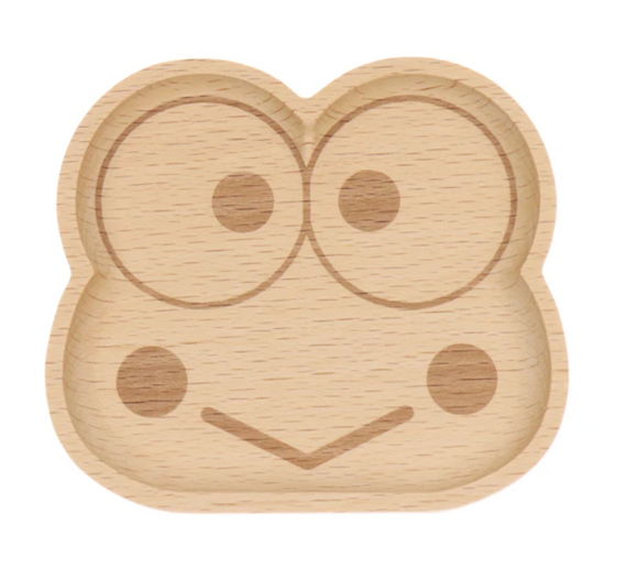 Kerroppi Face Die-Cut Wooden Tray by Sanrio