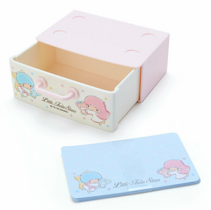 Little Twin Stars Memo Pad/ Paper in Drawer by Sanrio Japan