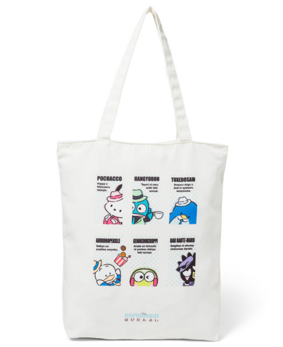 Hapidanbui Tote Bag with Sanrio Characters by Sanrio