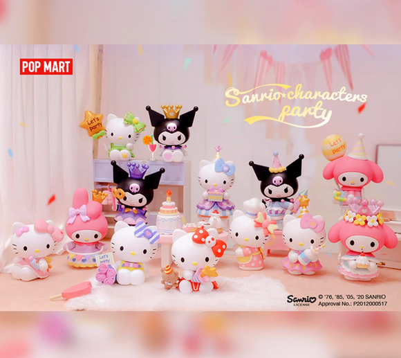 Sanrio Characters Party Blind Box Series by Sanrio X POPMART+ 1 Kawaii Sticker