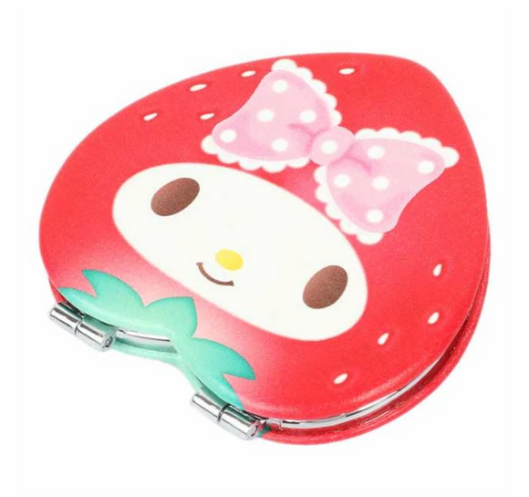 My Melody Strawberry Compact Mirror by Sanrio