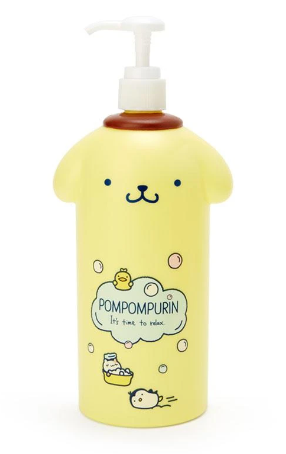 Pompompurin Pump Bottle/ Soap Dispenser Bath Time Series 2 by Sanrio