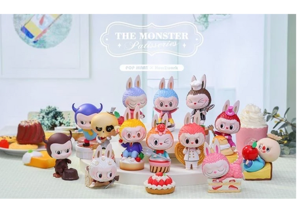 The Monster Patisseries Labubu Desserts Blind Box X POP MART X Kasing Lung x + 1 Kawaii Sticker
