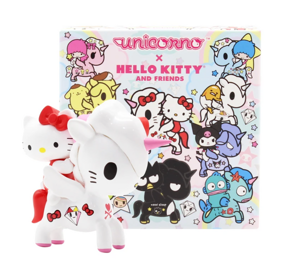 Unicorno X Hello Kitty & Friends Blind Box Series by Tokidoki