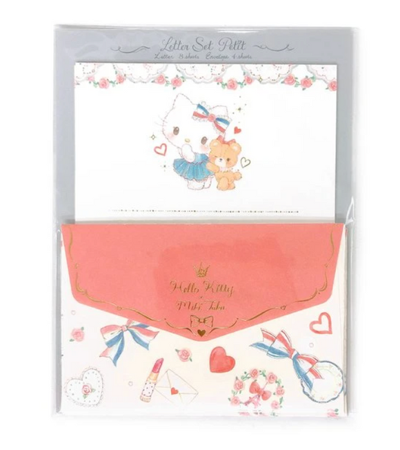 Hello Kitty x Miki Takei Mini Letter Set by Sanrio