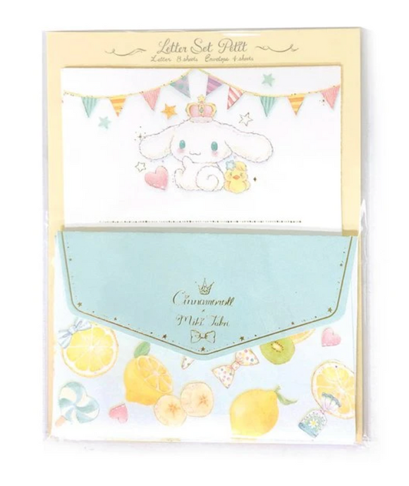 Cinnamoroll x Miki Takei Mini Letter Set by Sanrio