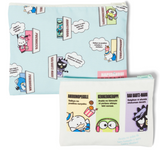 Hapidanbui Pouch Set with Zipper by Sanrio
