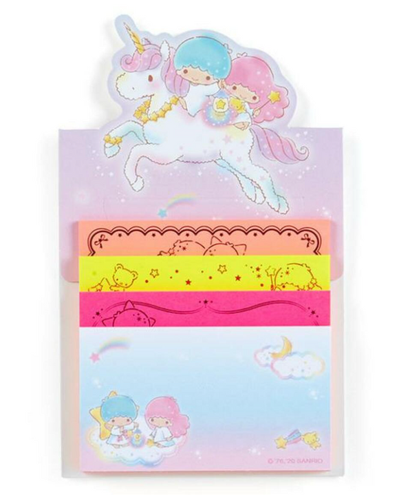 Little Twin Stars Tack Memo/ Memo Pad with Stand by Sanrio Japan