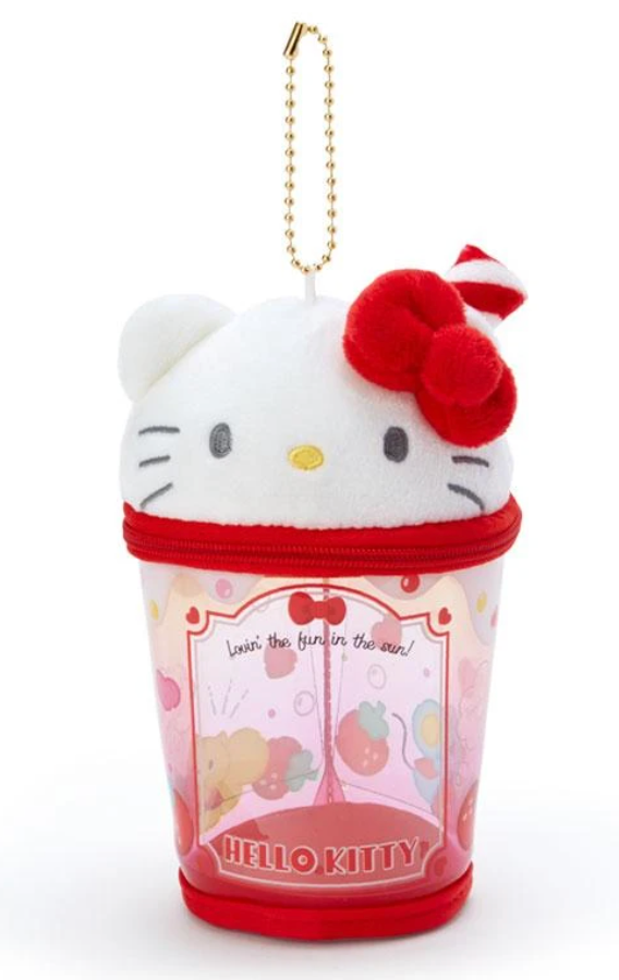 Hello Kitty Plush Cup Pouch / Summer Time Series by Sanrio