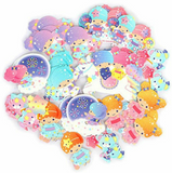 Little Twin Star Lantern Time Stickers/Pack of 40 by Sanrio