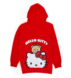 Hello Kitty  Hoodie / Red with Huge Print by Sanrio
