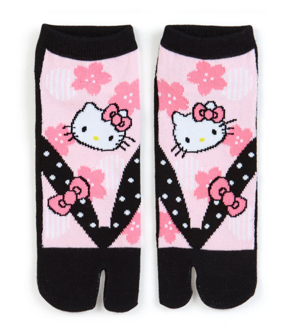 Hello Kitty Tabi-Style Socks by Sanrio