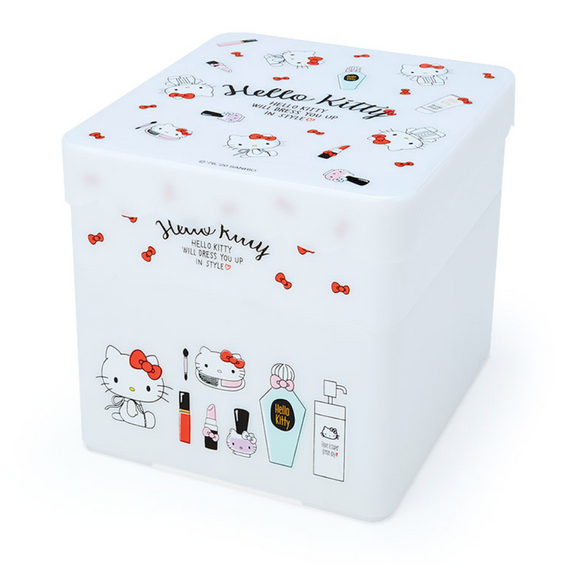 Hello Kitty Storage Box with Tray by Sanrio
