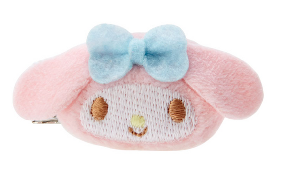 My Melody Mini Plush/ Mascot Hair Clip