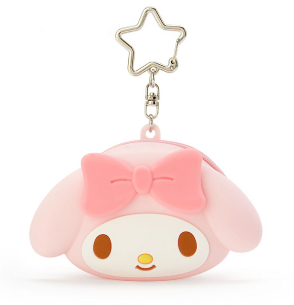 My Melody Silicon Mini Pouch Charm with Zipper by Sanrio