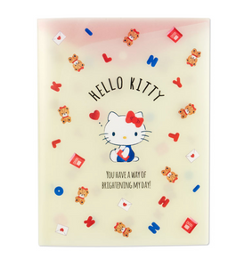 Hello Kitty Characters A4 Pocket File with Gusset by Sanrio