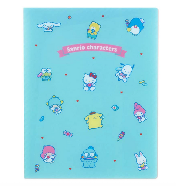 Sanrio Characters Together A4 Pocket File with Gusset by Sanrio