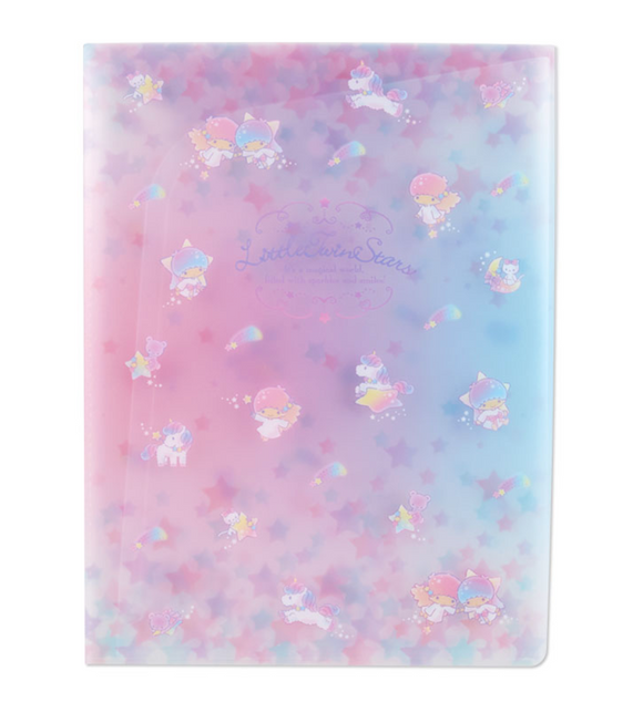 Little Twin Stars A4 Pocket File with Gusset by Sanrio