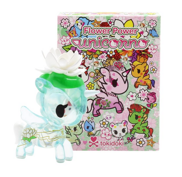 Flower Power Unicorno Blind Box Series by Tokidoki