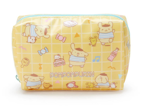 Pompompurin Print Pouch with Zipper by Sanrio