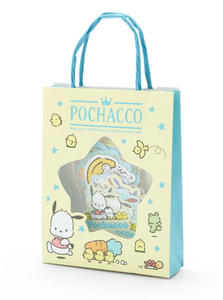 Pochacco Stickers in Mini Paper Shopping Bag by Sanrio