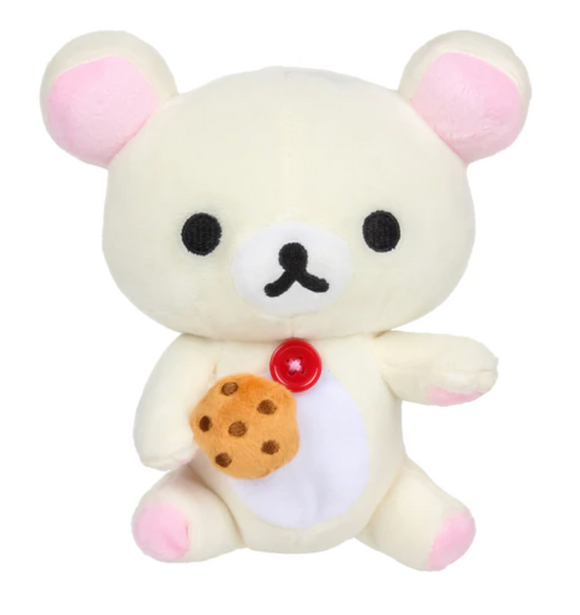 Korilakkuma Eating Biscuit/ Cookie Plush by San-X