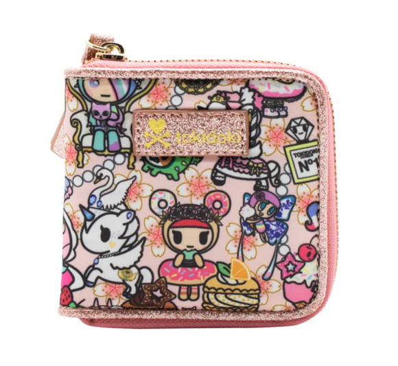 Kawaii Confections Small Zip Around Wallet by Tokidoki