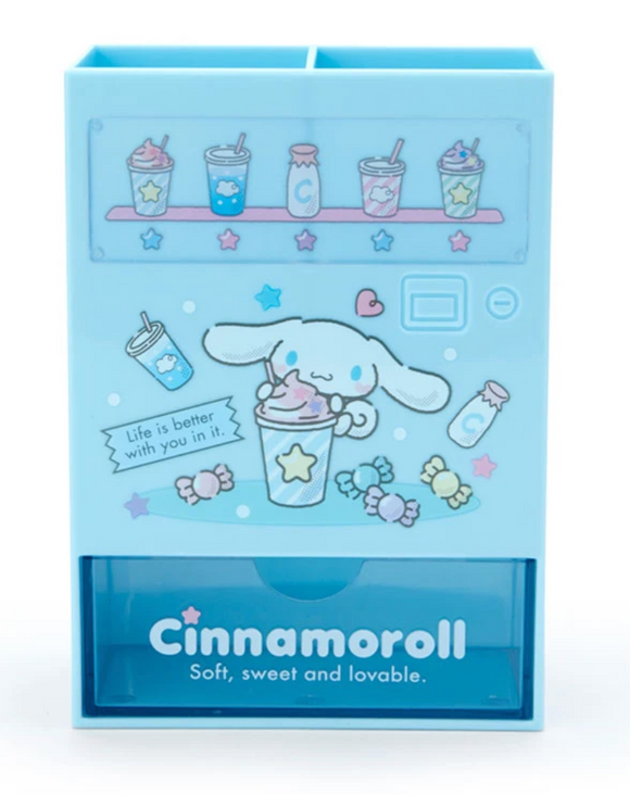 Cinnamoroll Vending Machine Pen Stand with Drawer by Sanrio