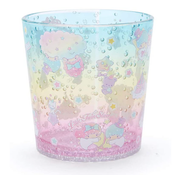 Little Twin Stars Clear Plastic Cup/ Tumble Bubble Series by Sanrio