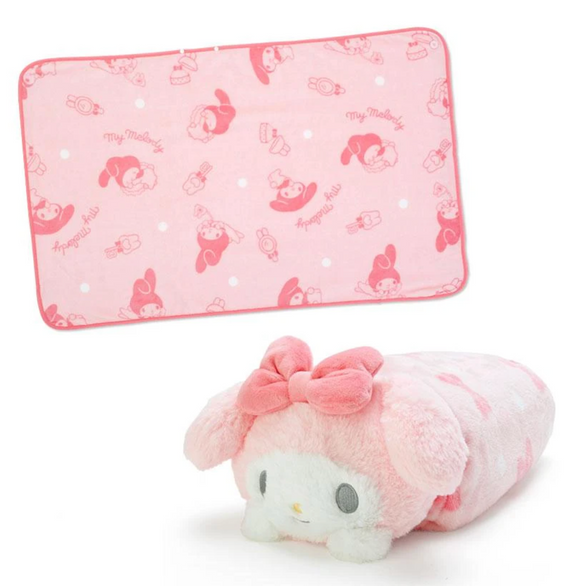 My Melody Plush Cushion/ Blanket And Case Collection by Sanrio