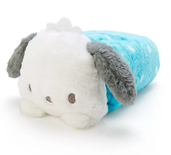 Pochacco Plush Cushion/ Blanket And Case Collection by Sanrio