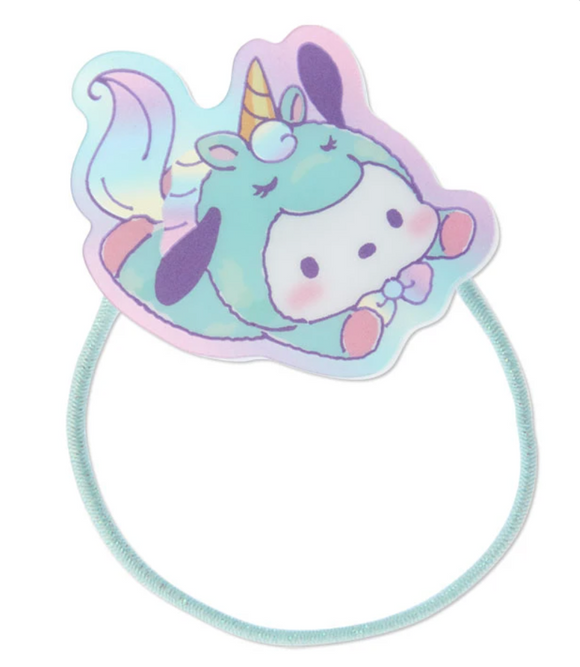 Pochacco Unicorn Party Ponytail Hair Tie by Sanrio