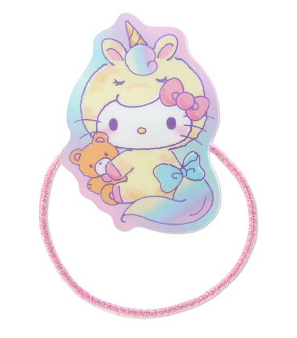 Hello Kitty Unicorn Party Ponytail Hair Tie by Sanrio