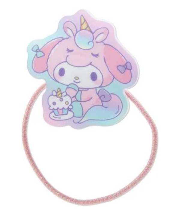 My Melody Unicorn Party Ponytail Hair Tie by Sanrio