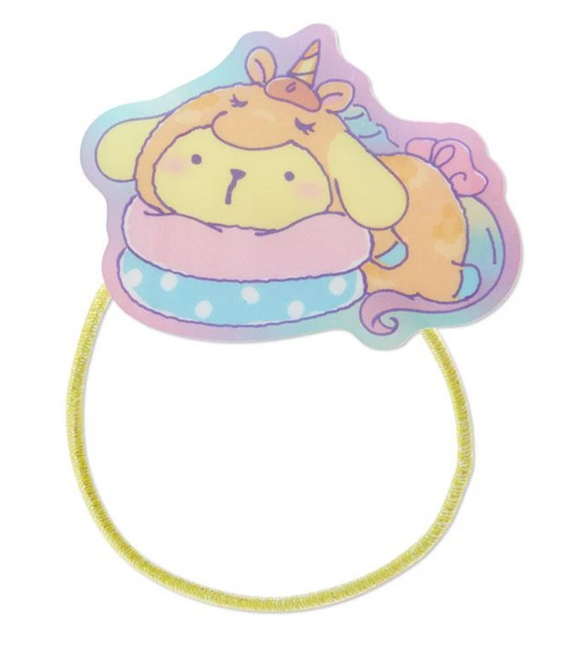Pompompurin Unicorn Party Ponytail Hair Tie by Sanrio