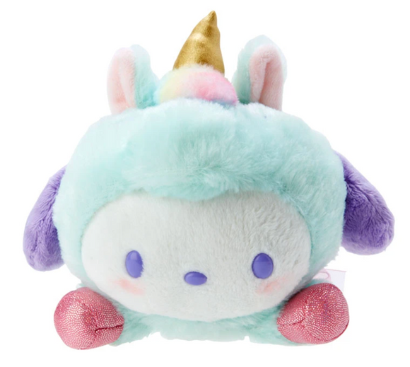 Pochacco Unicorn Colourful Plush by Sanrio