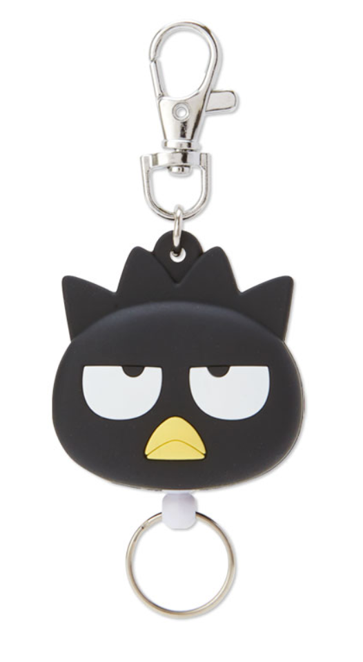Bad Badtz-Maru Die Cut Face Reel ID/ Key Holder by Sanrio