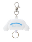 Cinnamoroll Die Cut Face Reel ID/ Key Holder by Sanrio