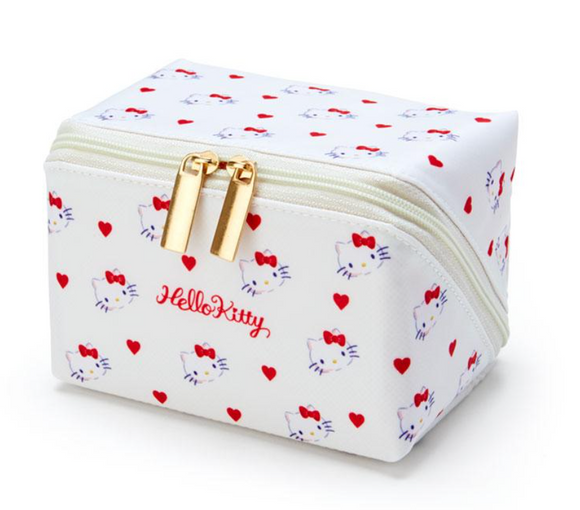 Hello Kitty Pacapo Cosmetic Pouch with Hearts by Sanrio