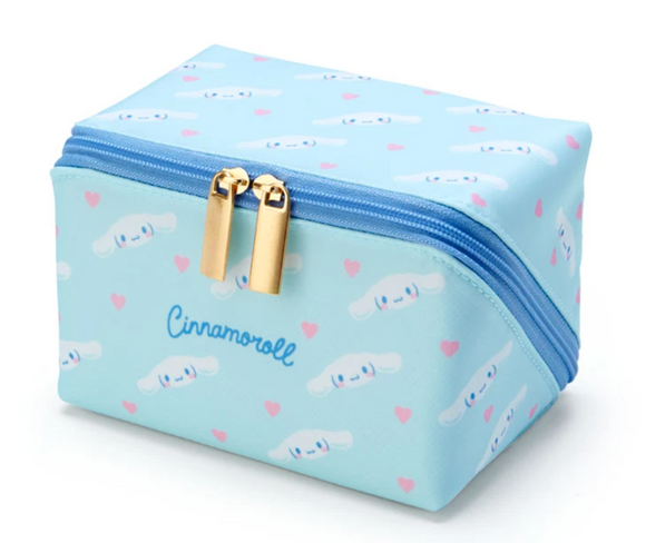 Cinnamoroll Pacapo Cosmetic Pouch with Hearts by Sanrio