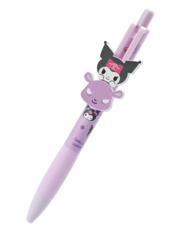 Kuromi Ball Pen with 2 faces mascots by Sanrio