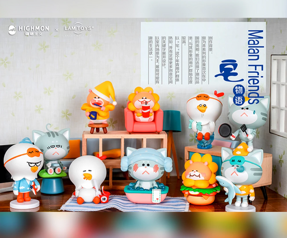Malan Friends Living Story Blind Box x Lam Toys