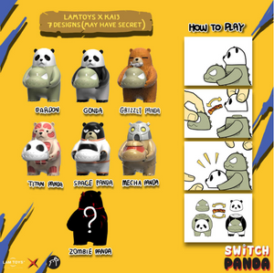 Switch Panda Vol. 1 Blind Box by Lam Toys