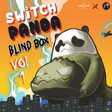Switch Panda Vol. 1 Blind Box by Lam Toys + 1 Kawaii Sticker