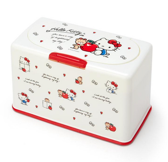 Hello Kitty Mask Storage Holder/ Case by Sanrio