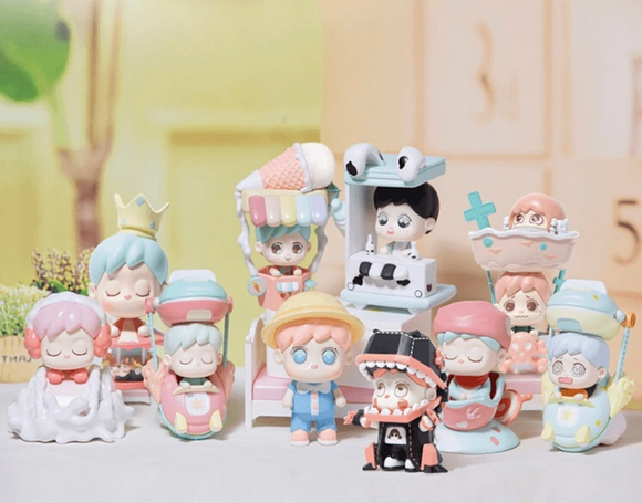 Amusement Park Blind Box Series by Heydolls + 1 Kawaii Sticker