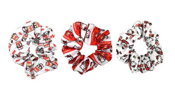 Hello Kitty x Cup Noodles Scrunchie Set by Sanrio