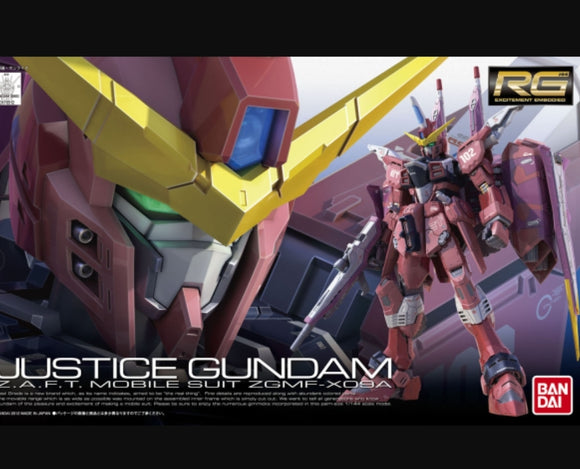RG (09) Justice Gundam 1/144 Z.A.F.T. Mobile Suit ZGMF-X09A - Megazone